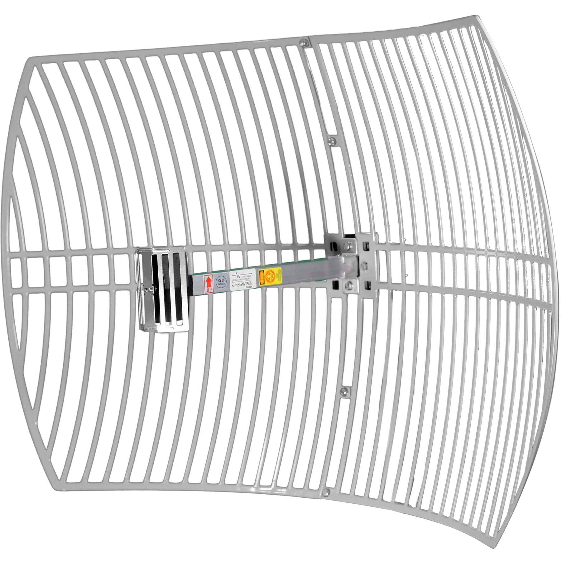 SimpleWiFi Ultra Long Range WiFi Extender - Directional Parabolic Grid  (High-Speed Signal Booster) Outdoor Antenna