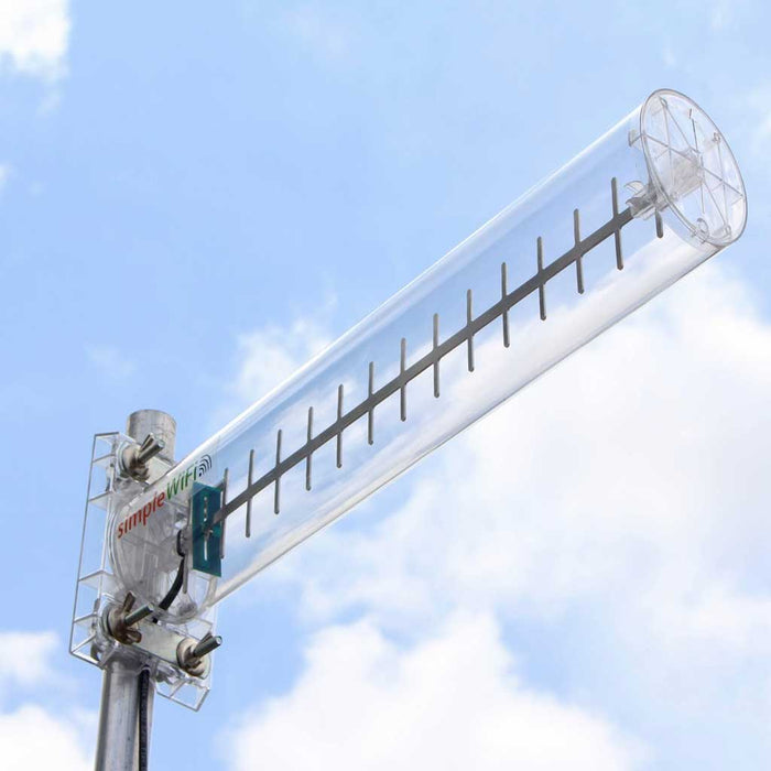 SimpleWiFi Yagi WiFi Extender - Long Range High Speed Wi-Fi Booster