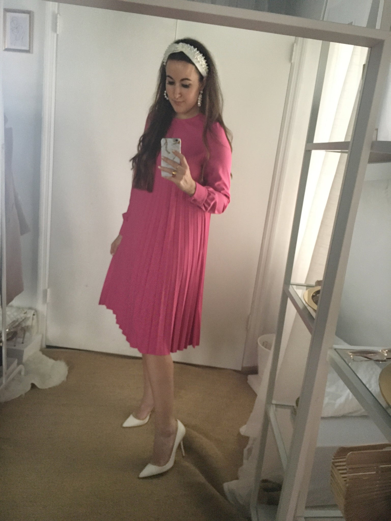 Pleated Dress - FINAL SALE!