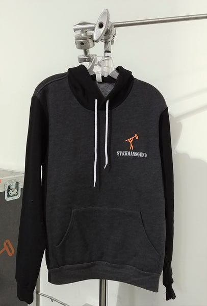 Pullover Hooded Sweatshirt - Stickman Sound
