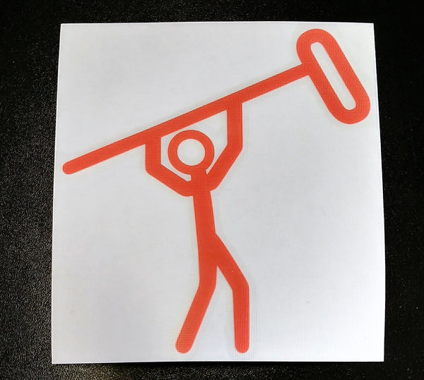 Stickman Decal