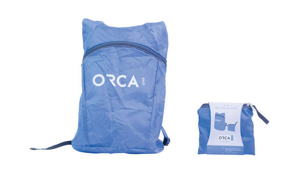 ORCA Folded Backpack - Stickman Sound