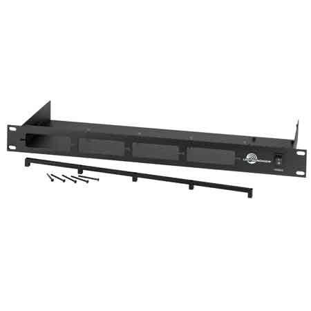 Lectrosonics 4-Channel Rack Mount for Compact UCR411A Receiver and IFB T4 Transmitter - Stickman Sound