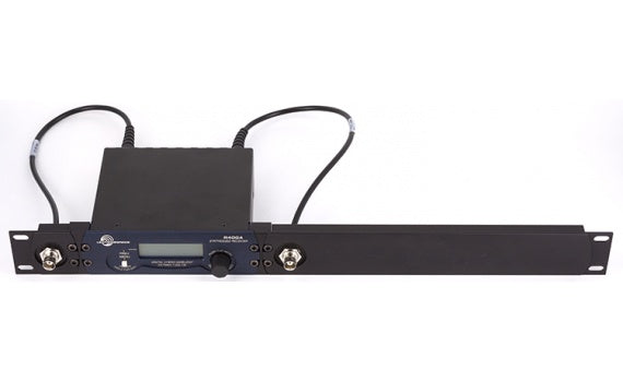 Lectrosonics R400a Digital Hybrid Wireless Diversity Receiver with Rack Mount Kit - Stickman Sound