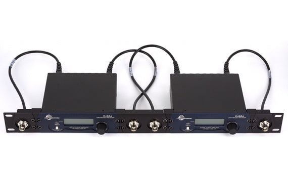 Lectrosonics R400a Digital Hybrid Wireless Diversity Receiver with Dual Rack Mount Kit - Stickman Sound