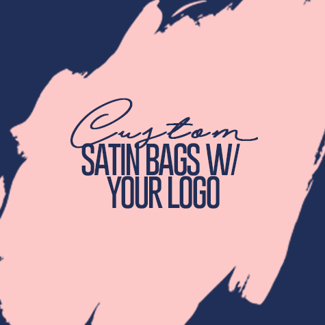 Custom Order Satin Bags w/ your Logo