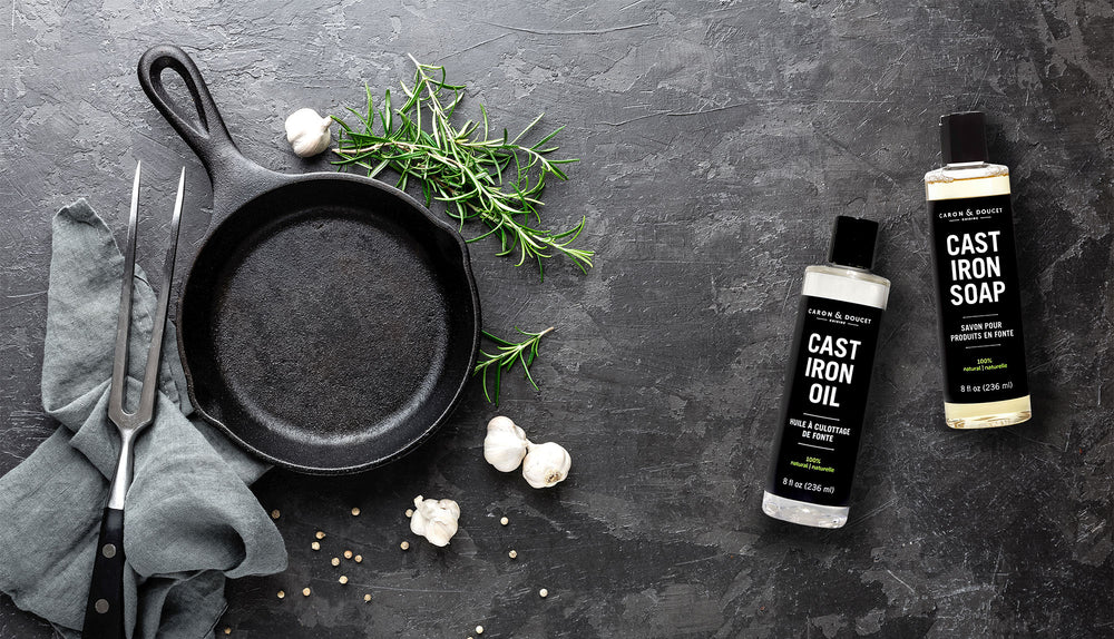 Cast Iron Cleaning, Seasoning & Conditioning Products