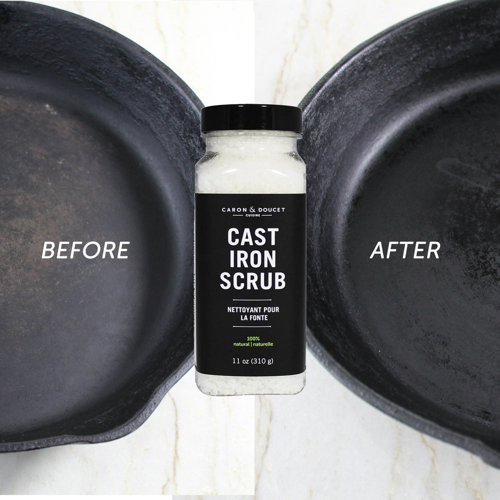 Cast Iron Cleaning Bundle