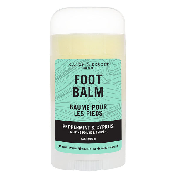 Peppermint & Cyprus Foot Balm, 50g