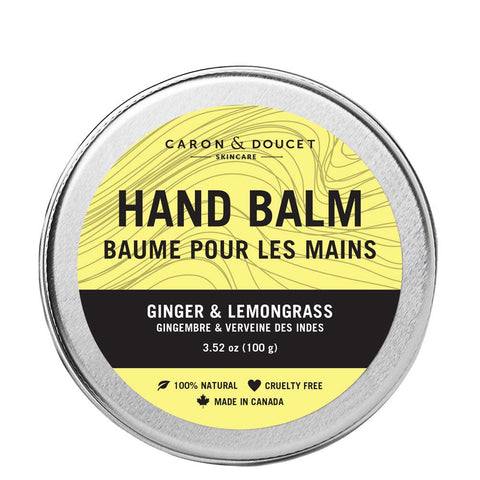 Ginger & Lemongrass Moisturizing Balm, 100g