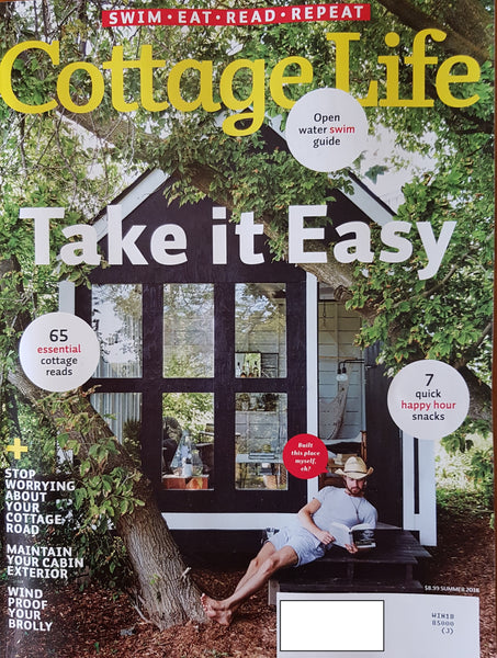 "J-HOOK Umbrella Base is Cottage Life Magazine's ""Dock Star"""