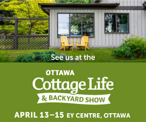 J-HOOK Portable Never-Blow-Over Umbrella Base Debut at Cottage Life Show