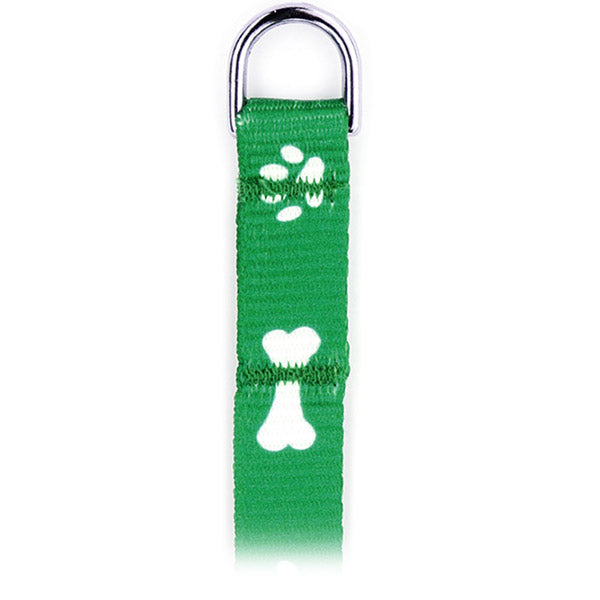 NEW 6-ft. Printed Paw/Bone Flat Leashes