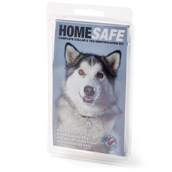 HomeSafe™ Collar & Tag Identification Kit
