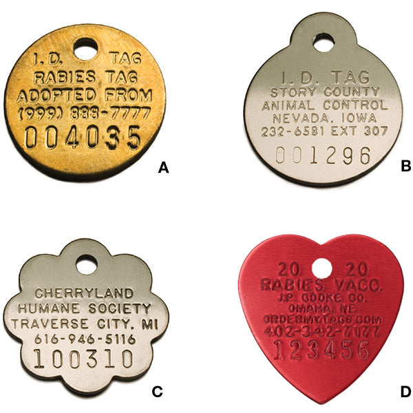 Metal ID Tags