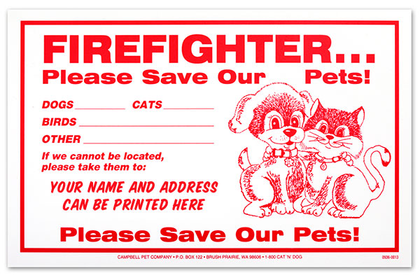 Personalized Firefighter Signs