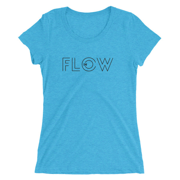 In Flow Tri-blend Message T