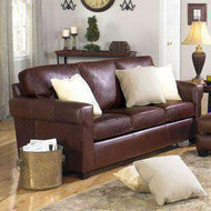 Leather Sleeper Sofas