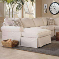Slipcovered Sectional Sofas