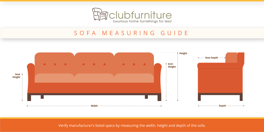 How to Measure Your Sofa