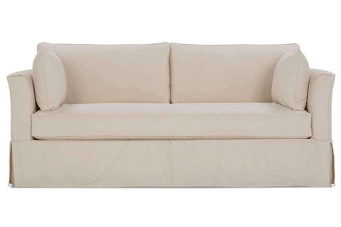 Delilah Single Bench Seat Slipcovered Sofa