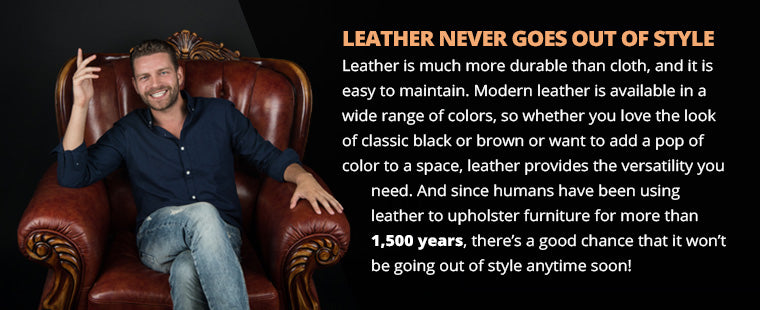 leather never goes out of style