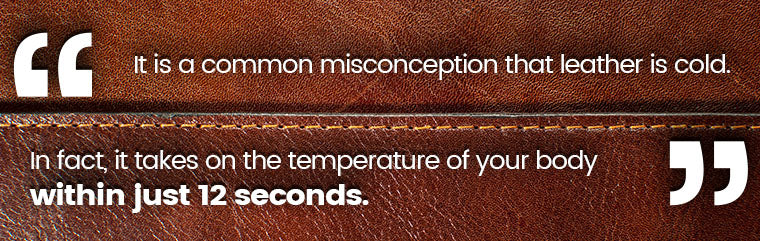 leather body temperature quote
