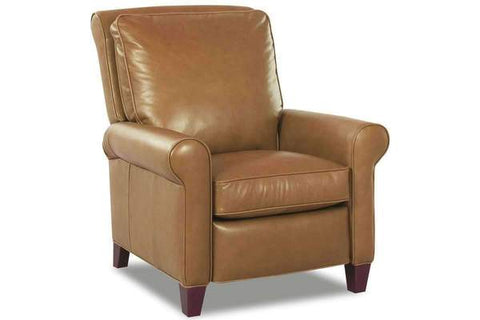 Perry Leather Pillow Back Recliner