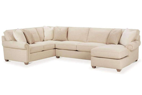 Ellie Fabric Sectional Sofa