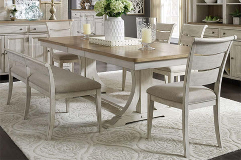 Aberdeen Farmhouse Style Dining Room Collection