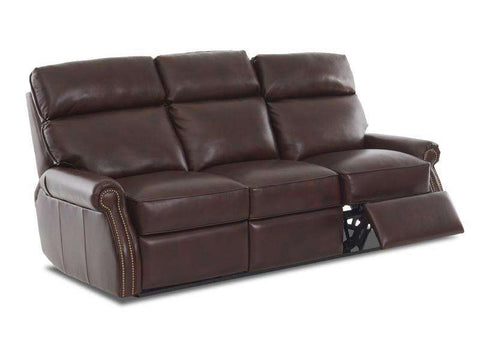 Brunswick Dual Power Recliner Leather Couch Collection