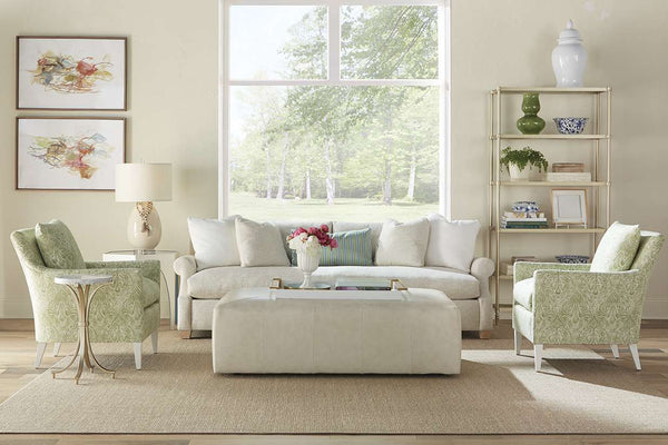 Charlotte 85, 98 or 110 Inch Oversized Bench Seat Sofa