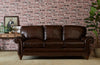 Image of Gerard Traditional Old World Inspired Leather Sofa Set