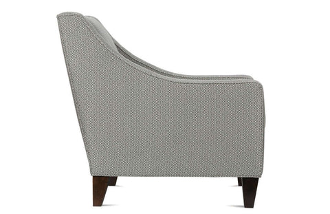 "Hailey ""Designer Style"" Fabric Upholstered Living Room Accent Chair"