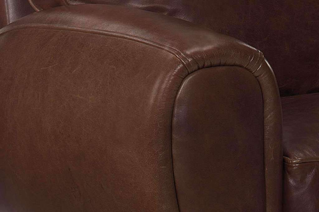 "Hennessey ""Ready To Ship"" Leather Recliner"