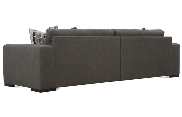 "Hilda 96 Inch ""Designer Style"" Large Track Arm Bench Seat Sofa"
