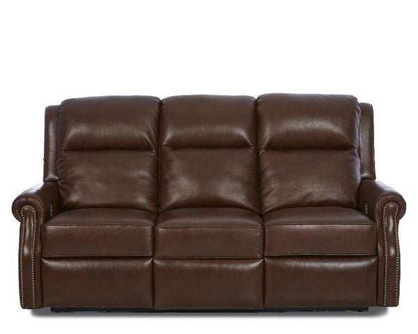 "Hobart Electric Power Reclining Wall Hugger Sofa With 3-Way ""Comfort Control Plus"""
