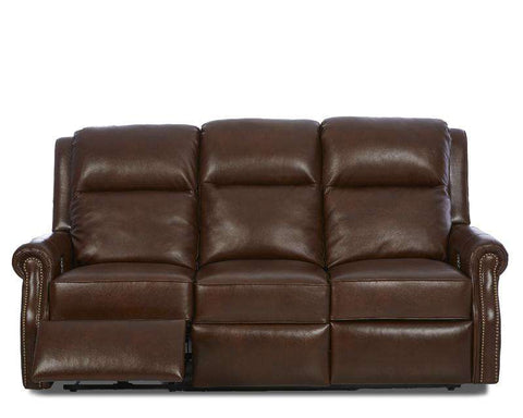 "Hobart 82 Inch Electric Power Reclining Wall Hugger Sofa With 3-Way ""Comfort Control Plus"""