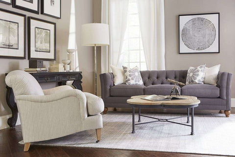 "Isadore ""Ready To Ship"" Queen Sleeper ((Two Cushion)) Apartment Sofa"