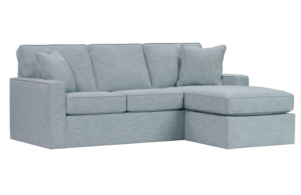 "Jennifer ""Designer Style"" Apartment Size Sofa With Reversible Chaise"