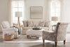 "Image of Christine ""Quick Ship"" Slipcover Swivel/Glider Chair In Off White Or Bright White"