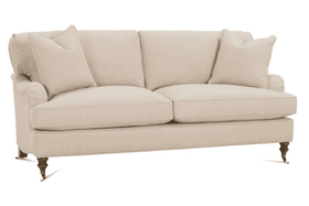 "Kristen ""Designer Style"" English Arm Fabric Sofa Collection - Deal Of The Week 40% Off!"