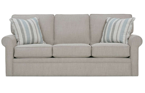 "Kyle 84 Inch ""Designer Style"" Fabric Upholstered Sofa"