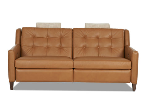 Lowry 77 Inch Mid-Century Modern Power Wall Hugger Apartment Sofa