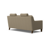 Image of Lowry 62 Inch Mid-Century Modern Power Wall Hugger Reclining Loveseat
