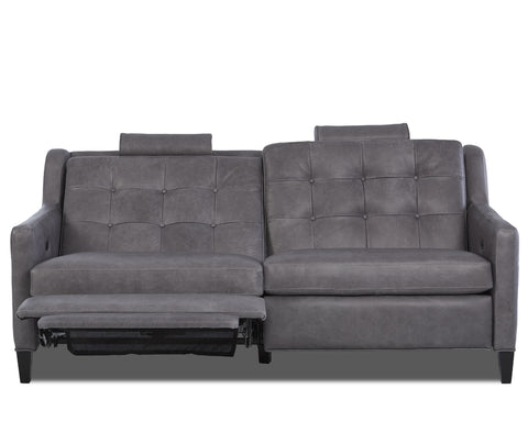 Lowry Mid-Century Modern Power Wall Hugger Reclining Loveseat