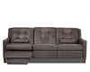 Image of Lowry 88 Inch Mid-Century Modern Power Wall Hugger Reclining Sofa