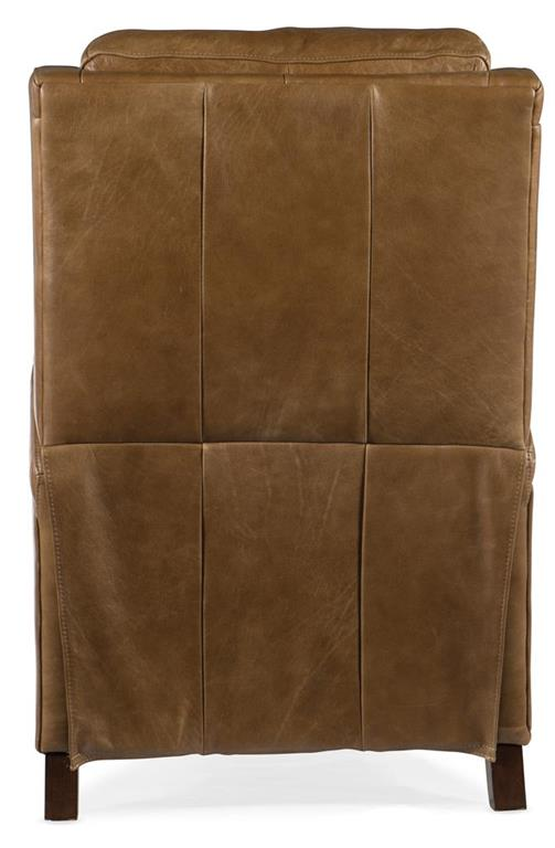 """Malmo Dual Power """"Quick Ship"""" Transitional Leather Recliner"""