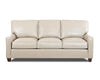 Image of Mills 81 Inch Modern Leather Sofa