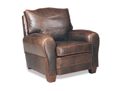 Orleans French Leather Club Chair Recliner